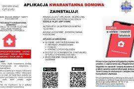 Aplikacja Ministerstwa Cyfryzacji dla osób objętych kwarantanną domową